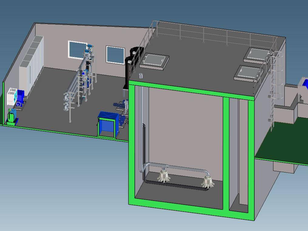 Ingénierie des unités de traitement des eaux
