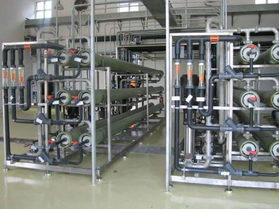 Unité d'osmose inverse en SKID