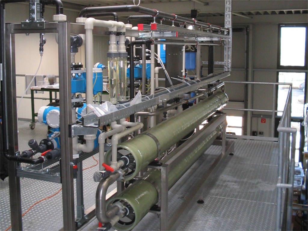 Unité de nanofiltration industrielle